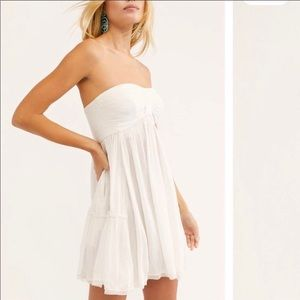 NEW FREE PEOPLE Across the Sea Tunic Mini Dress XS